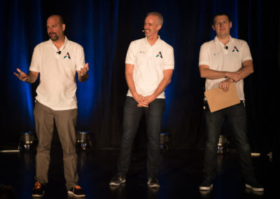 Arival Co-Founders: Bruce Rosard, Managing Director & Co-Founder Arival; Douglas Quinby, Sr. VP Research, Phocuswright; Alex Kremer, Co-Founder Redeam & Flextrip