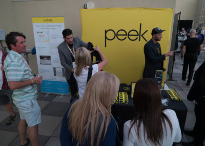 Peek sponsors the Sunset Happy Hour