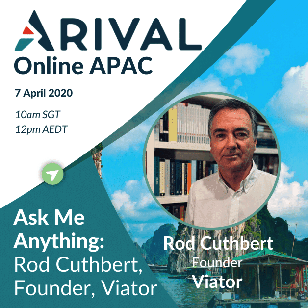 Ask Me Anything: Rod Cuthbert, Founder, Viator