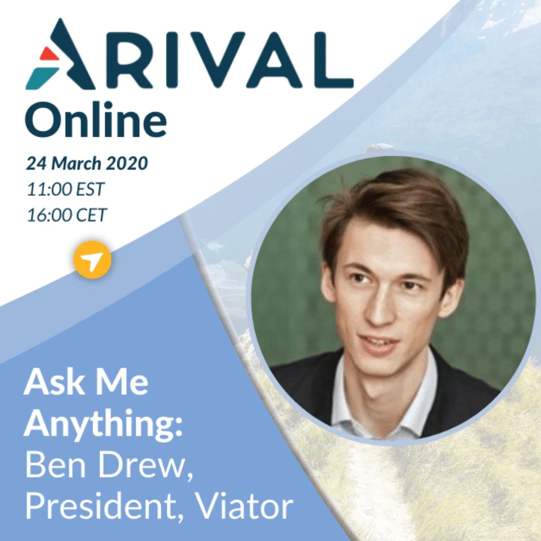 Ask Me Anything: Ben Drew, President, Viator