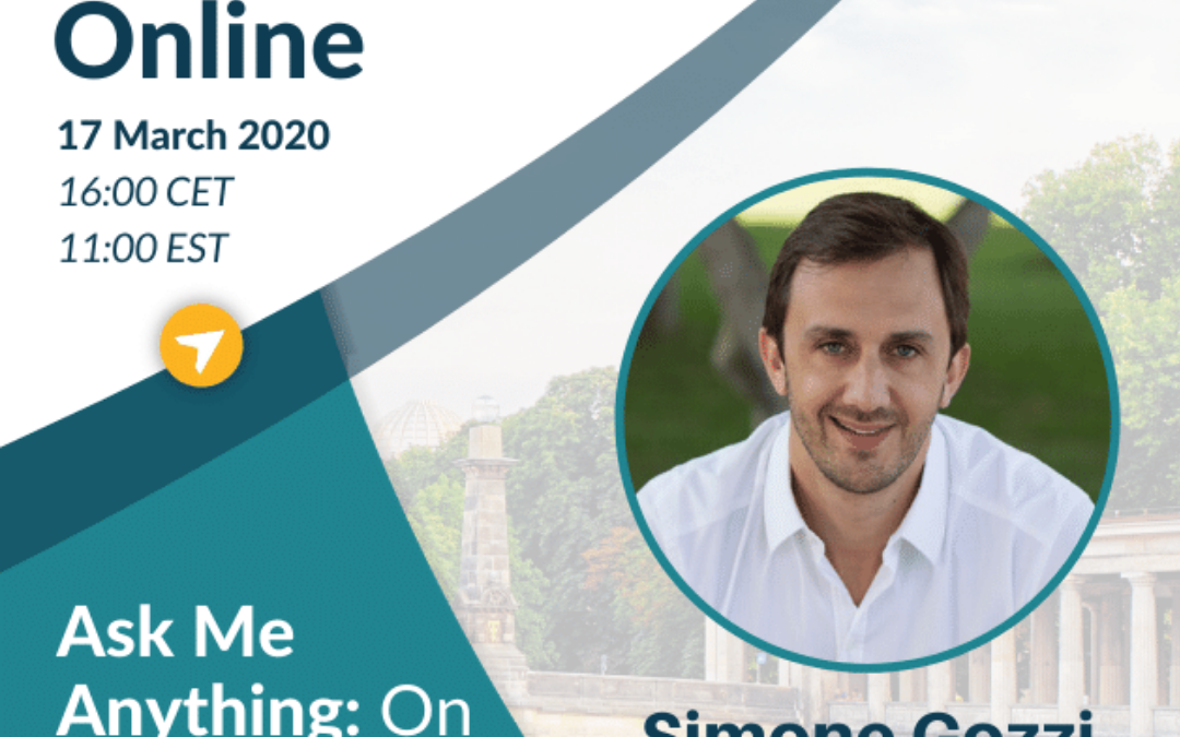 Ask Me Anything: On the Front the Front Lines with Simone Gozzi, Founder & CEO, City Wonders