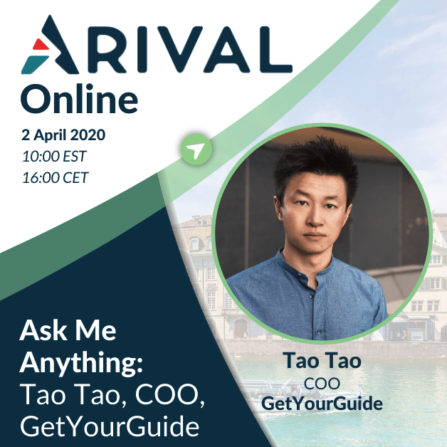 Ask Me Anything: Tao Tao, Co-Founder and COO at GetYourGuide