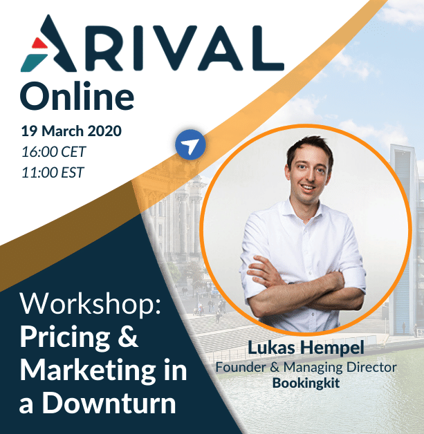 Workshop: Pricing & Marketing in a Downturn
