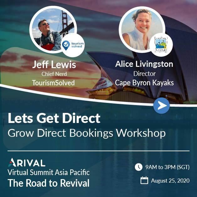 Workshop: Let's Get Direct – Grow Direct Bookings